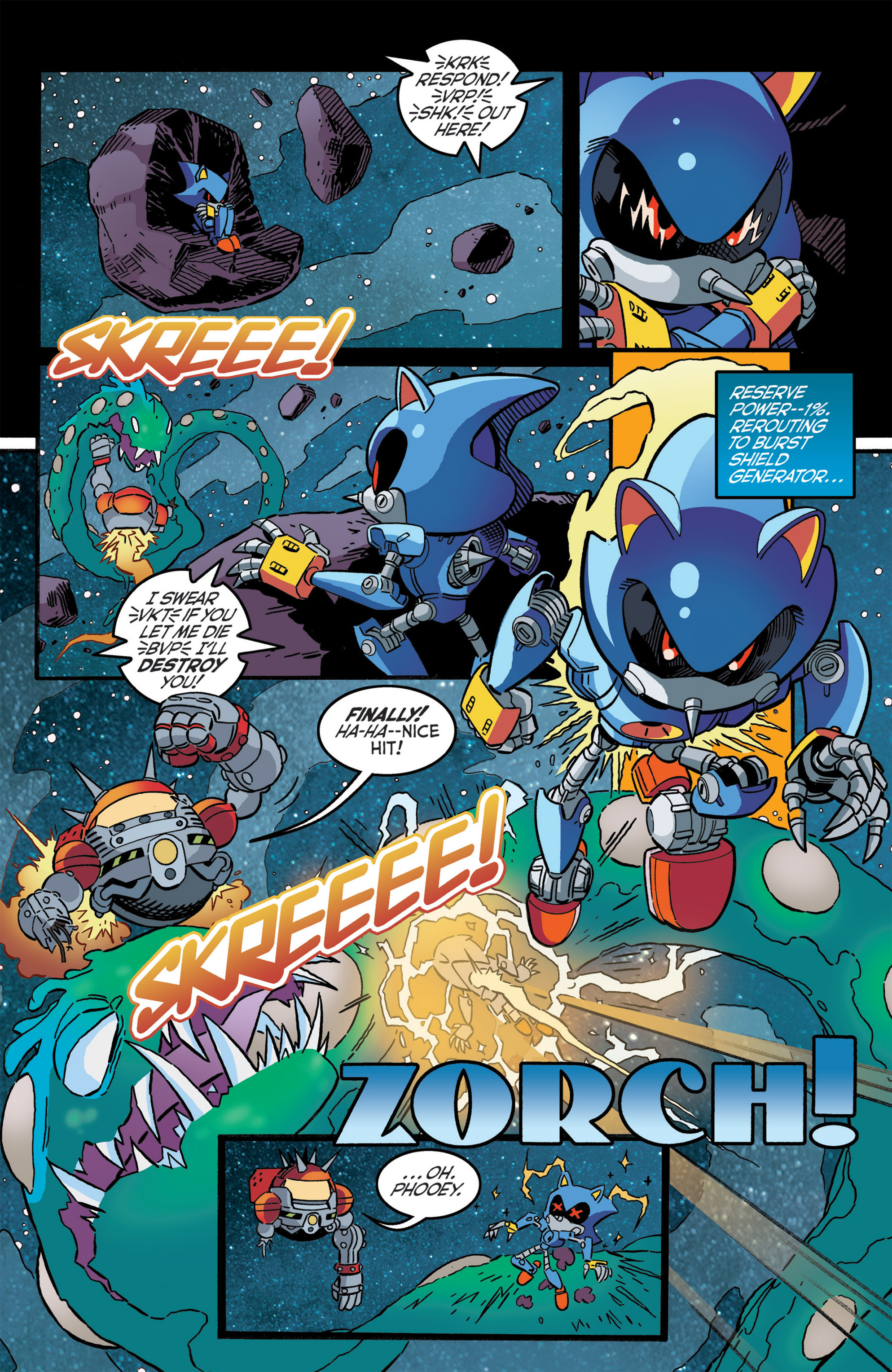 Read online Sonic The Hedgehog comic -  Issue #276 - 20