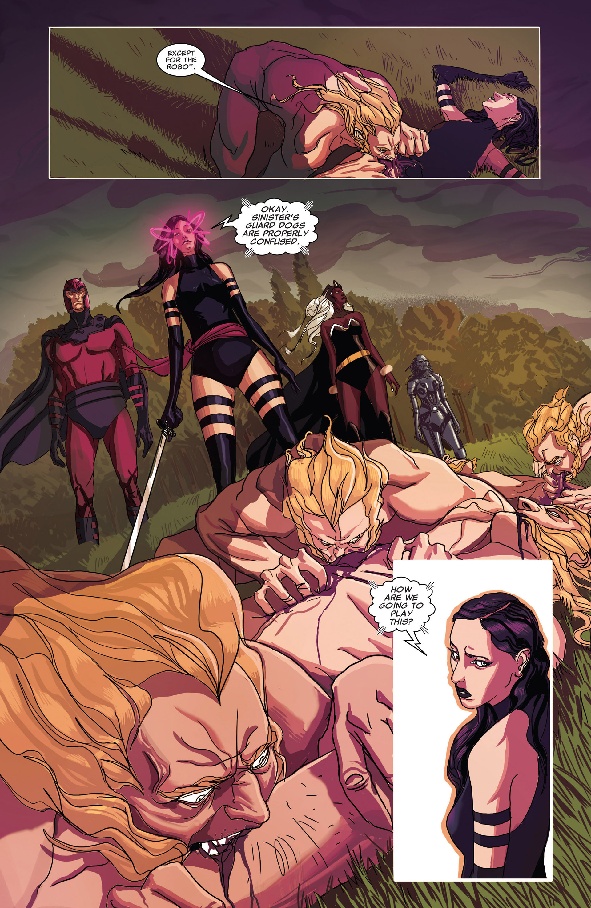 Read online Uncanny X-Men (2012) comic -  Issue #17 - 4