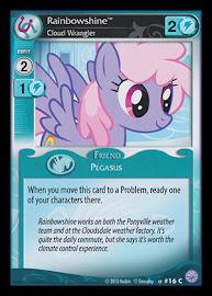 My Little Pony Rainbowshine, Cloud Wrangler Premiere CCG Card