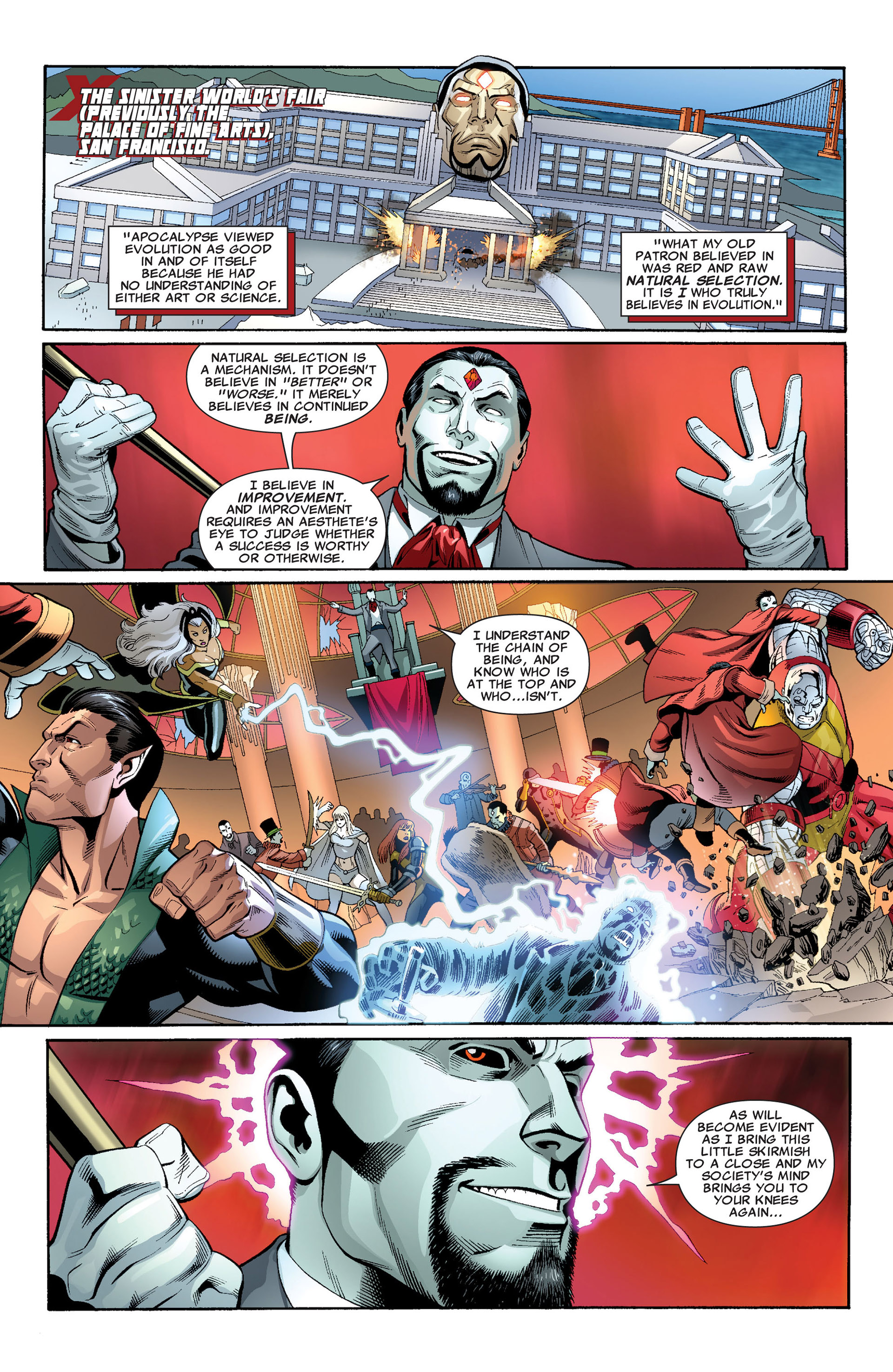 Read online Uncanny X-Men (2012) comic -  Issue #3 - 3