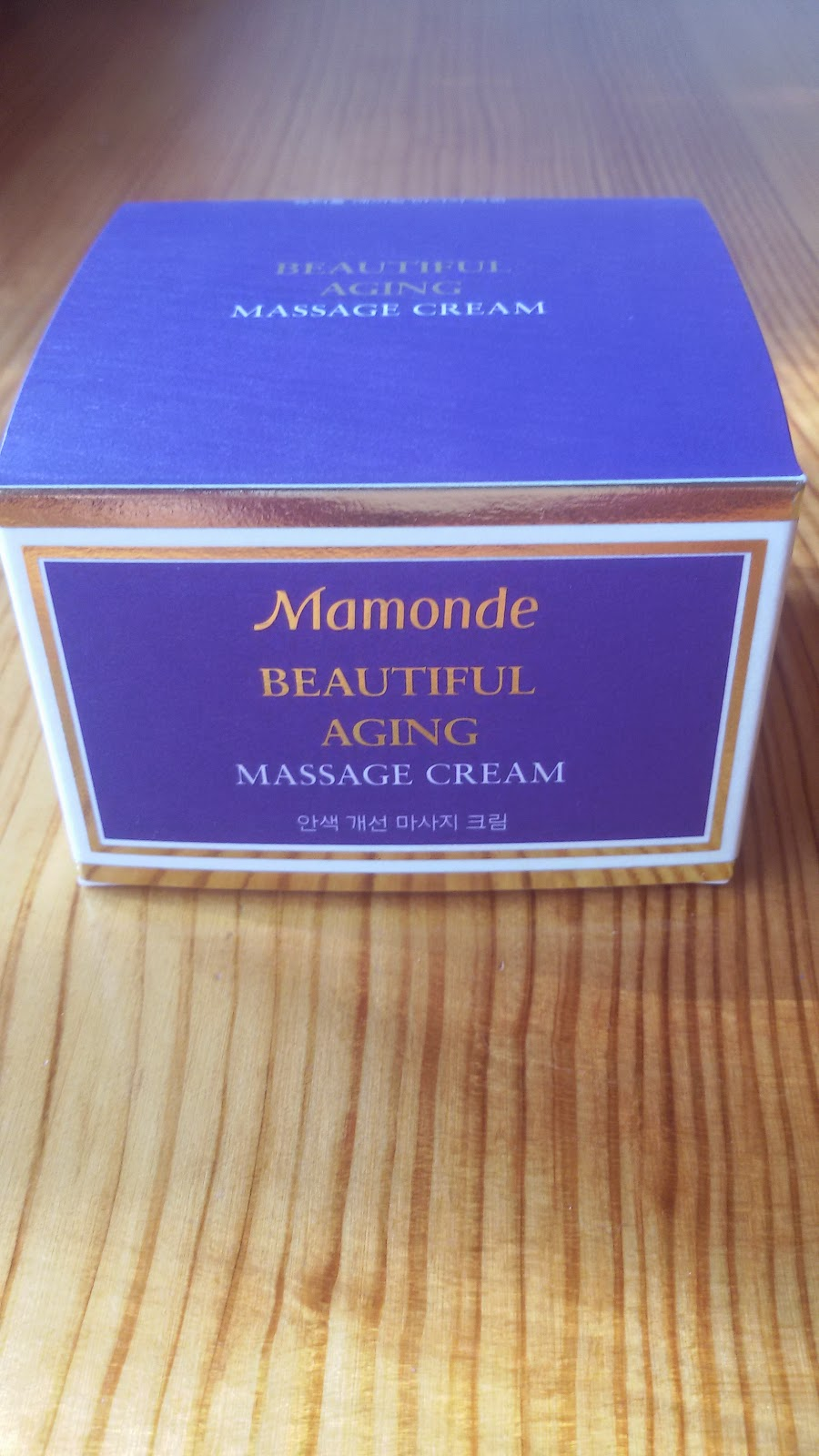 Массажный крем Mamonde Beautiful Aging Massage Cream: помоги себе сам