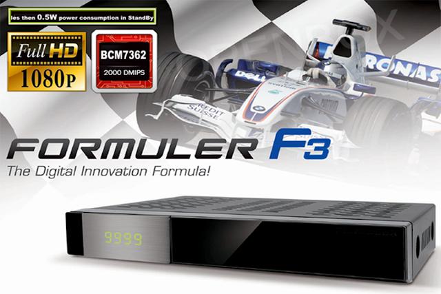 FORMULER F3 NOVA ATUALIZAÇÃO - 06/10/2016