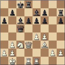 Partida de ajedrez Francisco José Pérez - Arturo Pomar, posición después de 19…0-0-0?