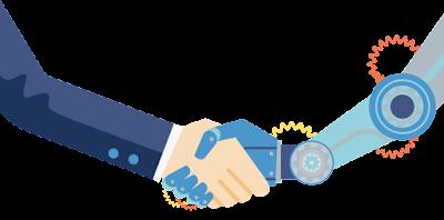 Com utilitzar la intel·ligència artificial per donar suport al treball humà