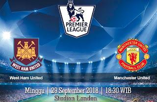 Prediksi West Ham United vs Manchester United 29 September 2018