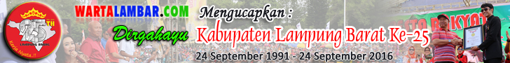 Dirgahayu Kabupaten Lampung Barat Ke-25 Tahun 2016
