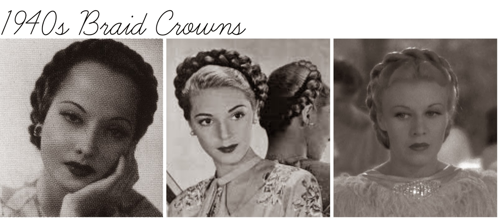 suggestions salon: new again-braid crown tutorial
