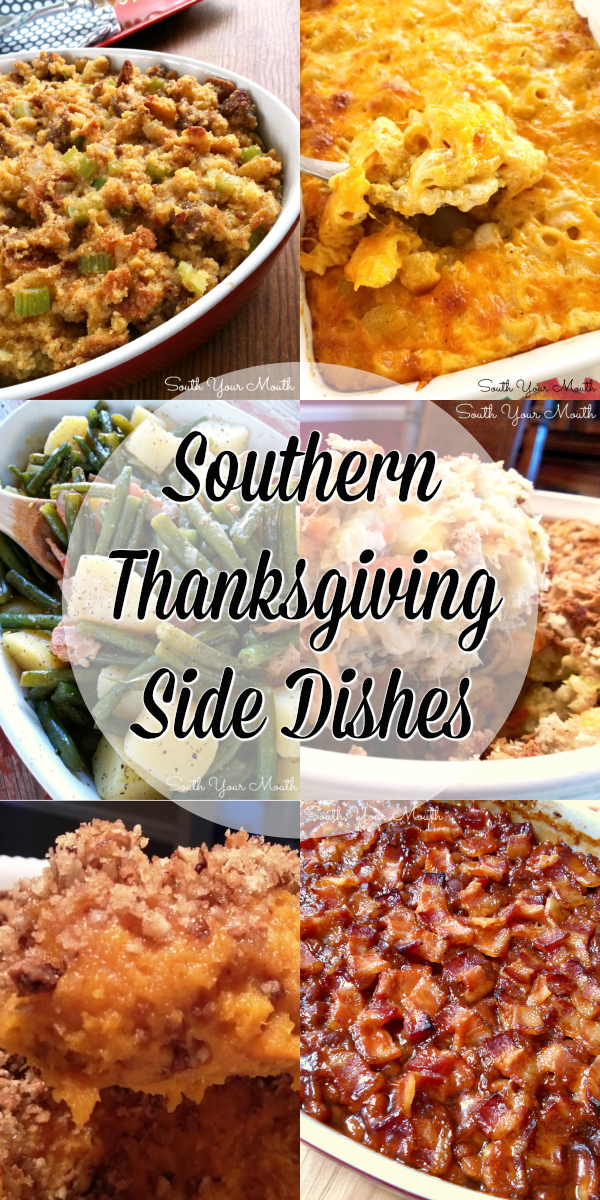 Southern Thanksgiving Side Dishes | A collection of the TOP 10 recipes for Southern Thanksgiving side dishes! #thanksgiving #southern #casserole #vegetable #recipe #best