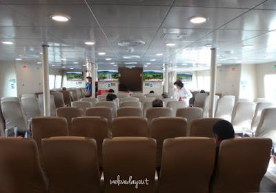 Horizon Ferry from Harbourfront Terminal to Harbour Bay Terminal inwards Batam SingaporeTourismMap: 2D1N Batam Trip | Nagoya Hill Hotel | Nagoya Hill Mall