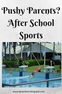 Pushy Parents? After School Sports