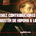 Diez contribuciones que hizo Agustín de Hipona a la filosofía