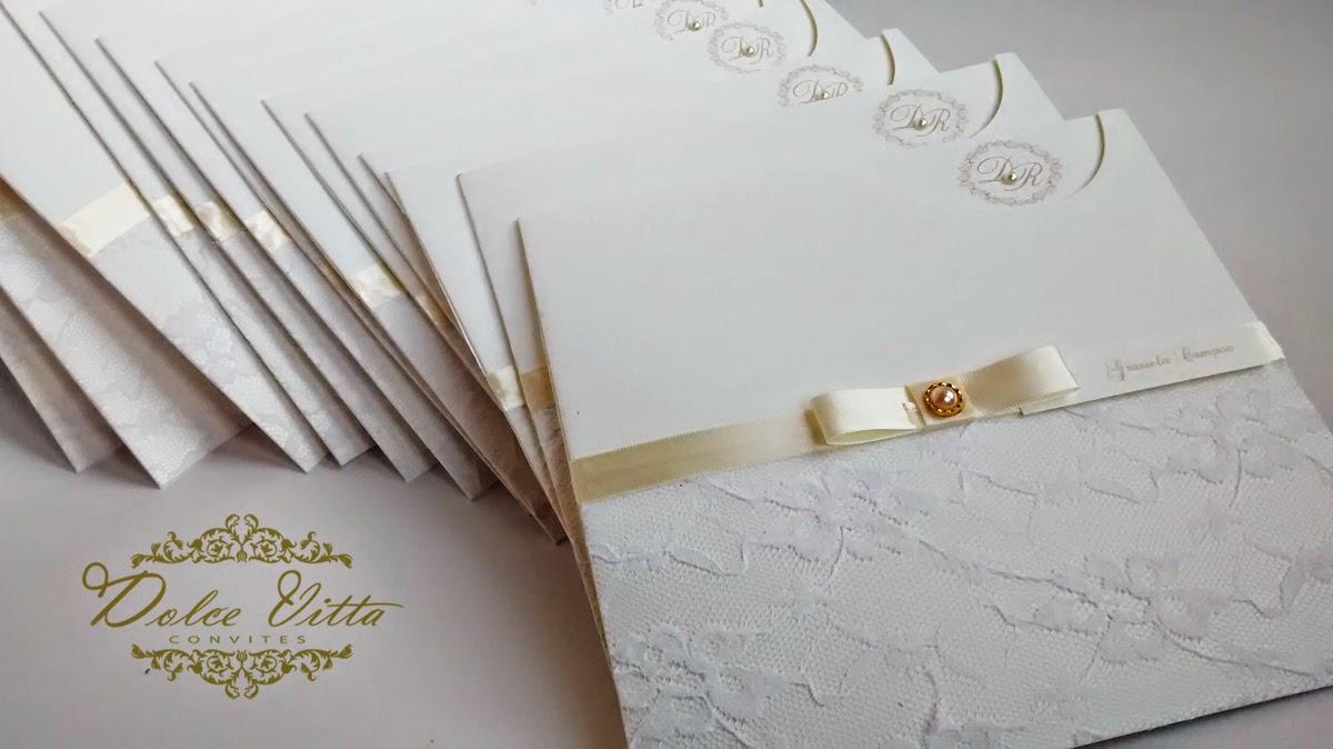 Kit de Casamento Modelo Romance Cod. 0211. Lindo modelo de convite ... 939c8e7070