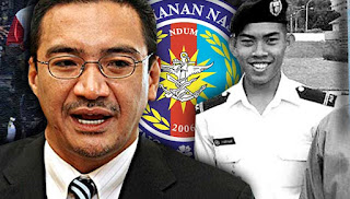 gambar pegawai kadet tahun ketiga Universiti Pertahanan Nasional Malaysia yang didera dengan seterika wap