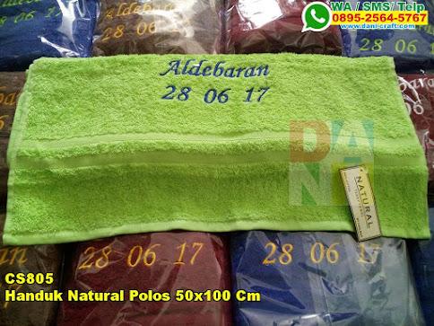 Jual Handuk Natural Polos 50x100 Cm