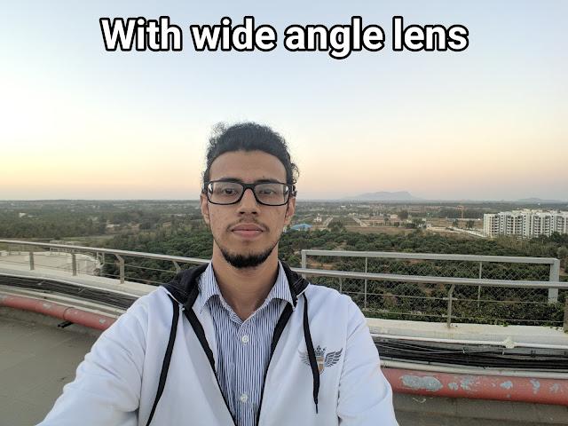 iVoltaa wide angle lens