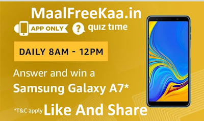 Samsung Galaxy A7 Quiz Time