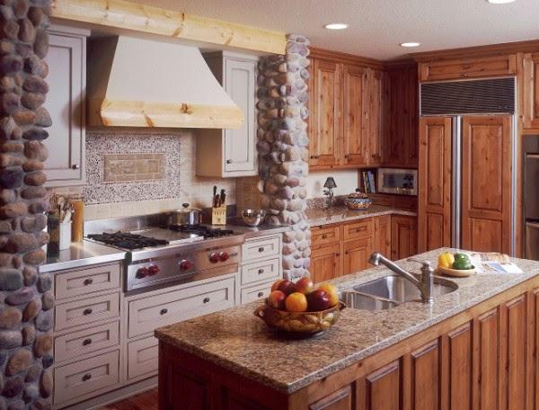 Fotos de cocinas estilo r stico colores en casa - Cocinas estilo rustico ...