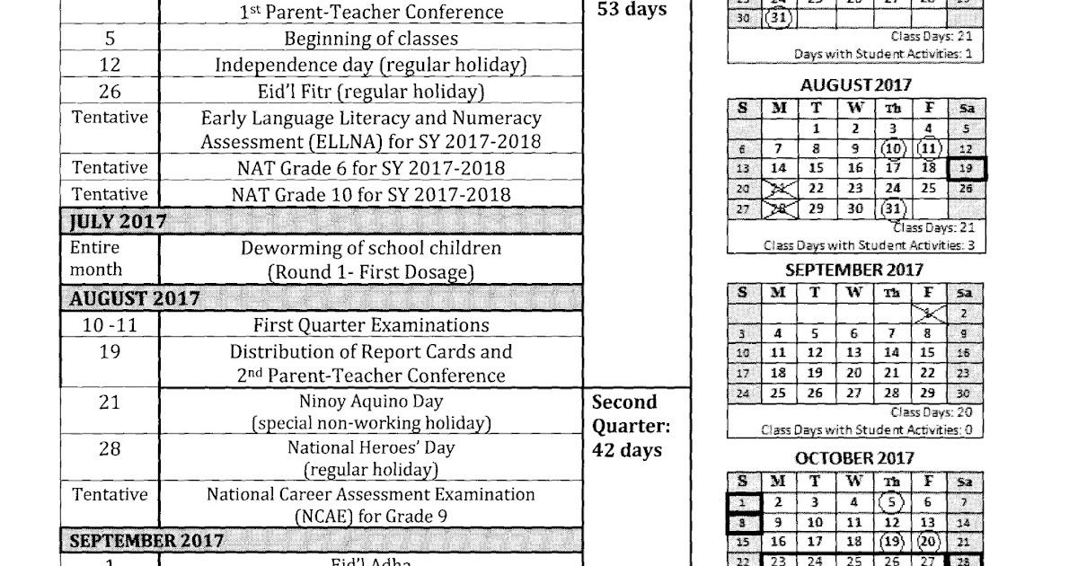 Sample Academic Calendar School Year Calendar Calendar Template - sample academic calendar