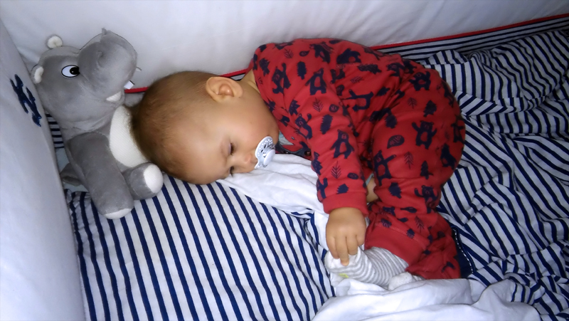 Spać czy nie spać z dzieckiem? Oto jest pytanie!