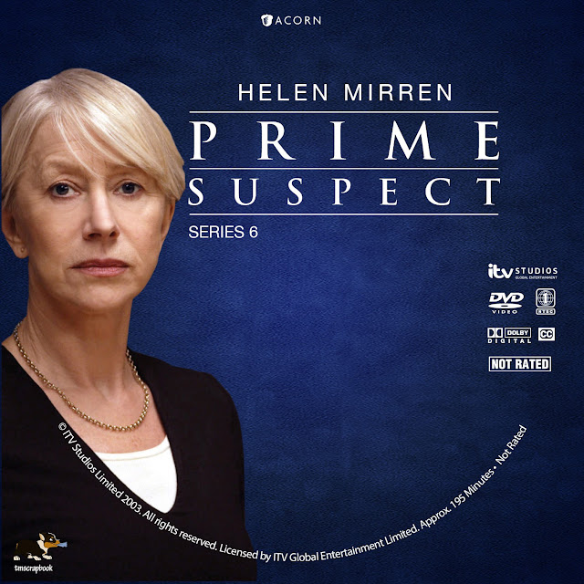 Prime Suspect Season 6 DVD Label