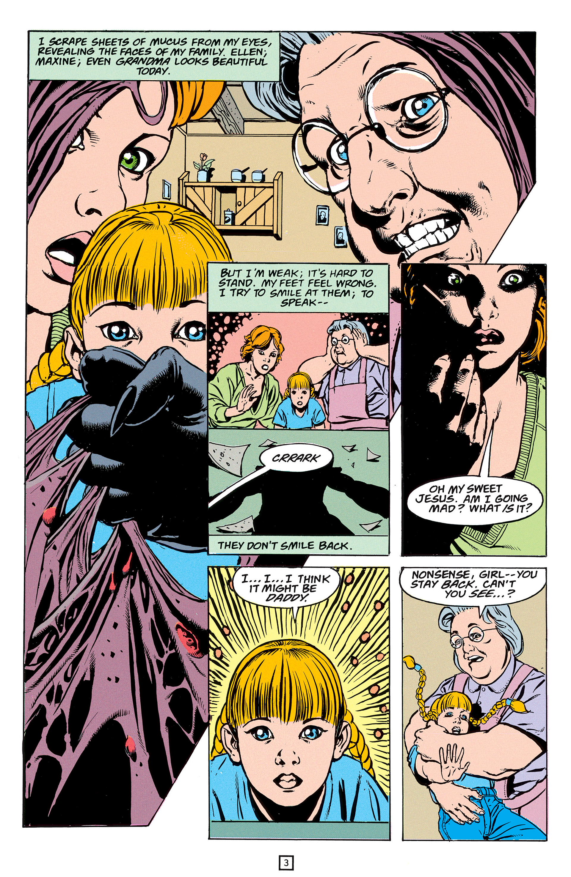 Read online Animal Man (1988) comic -  Issue #56 - 4