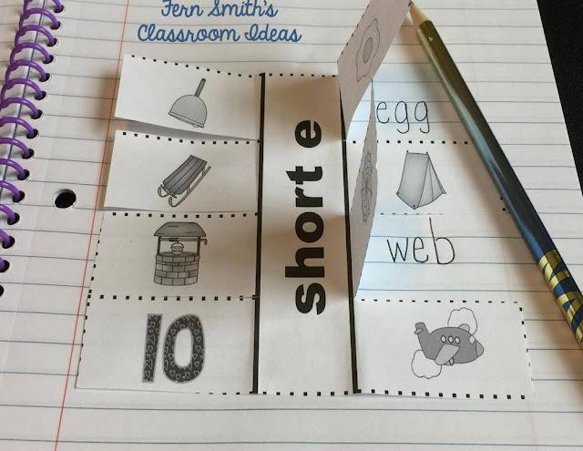 Fern Smith's Classroom Ideas Vowel Sorting Short e & Long e Center Games and Interactive Notebook Activities at TeachersPayTeachers, TpT.