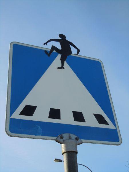 Arte callejero y señalización