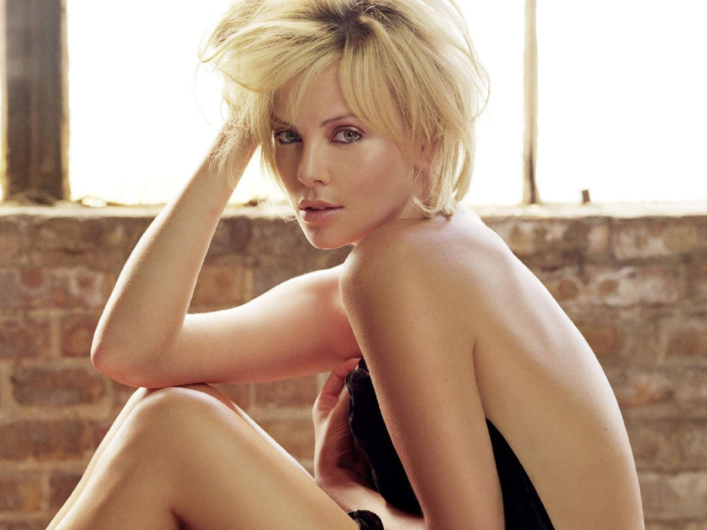 sexy Charlize theron