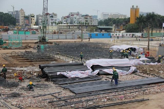 Tiến độ xây dựng chung cư EcoLife Capitol