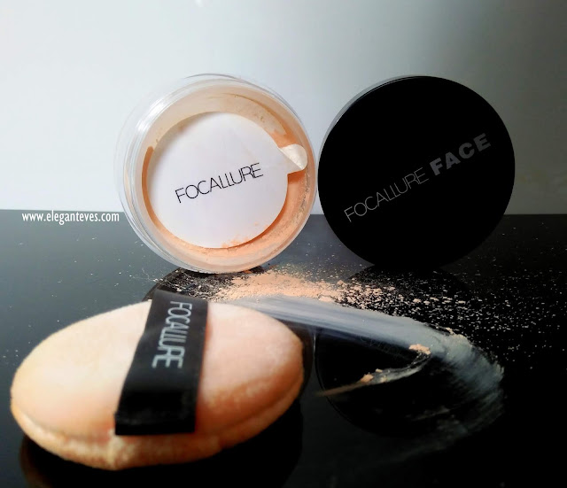Focallure Loose Powder 02 Review, Swatches