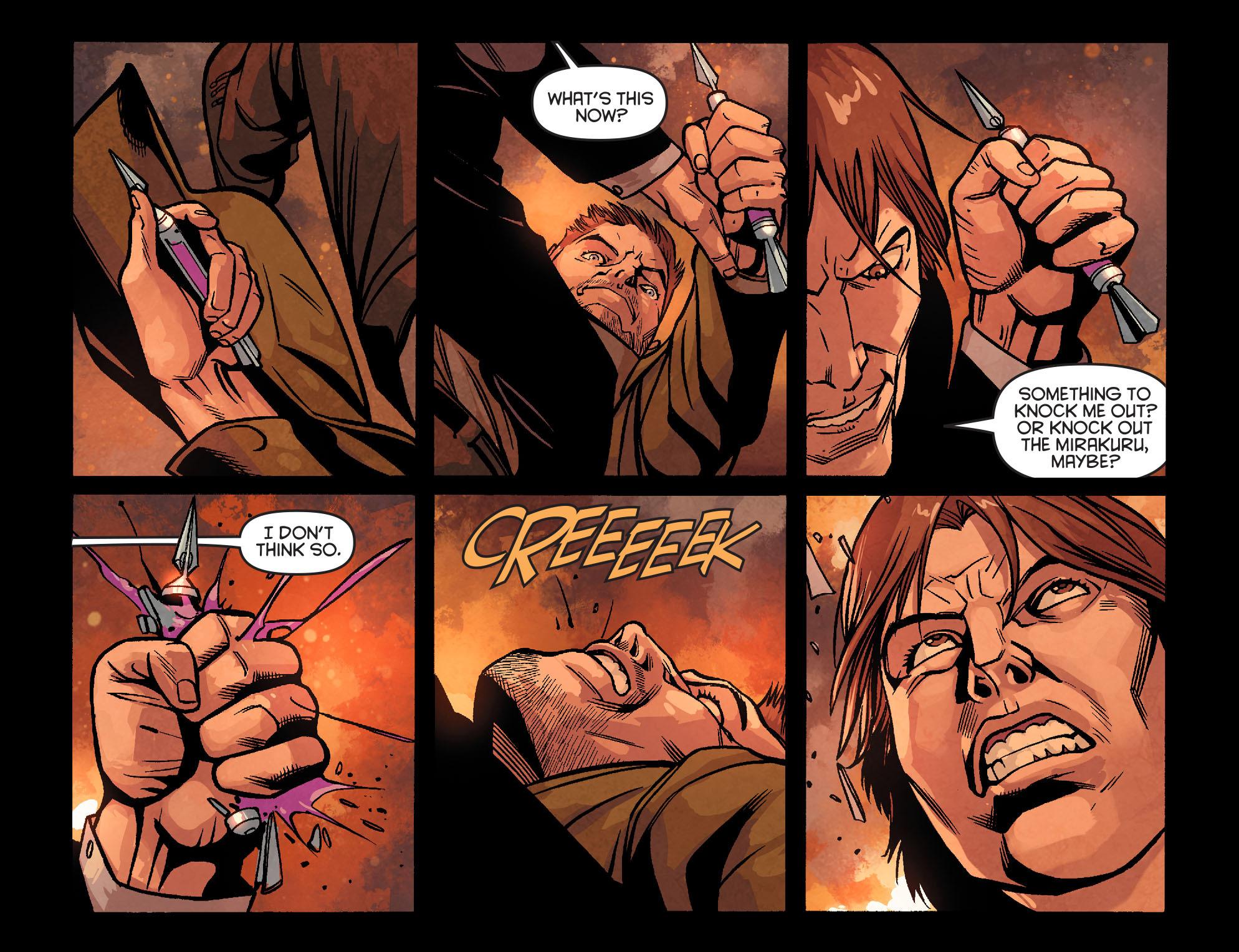 Read online Arrow: Season 2.5 [I] comic -  Issue #22 - 7
