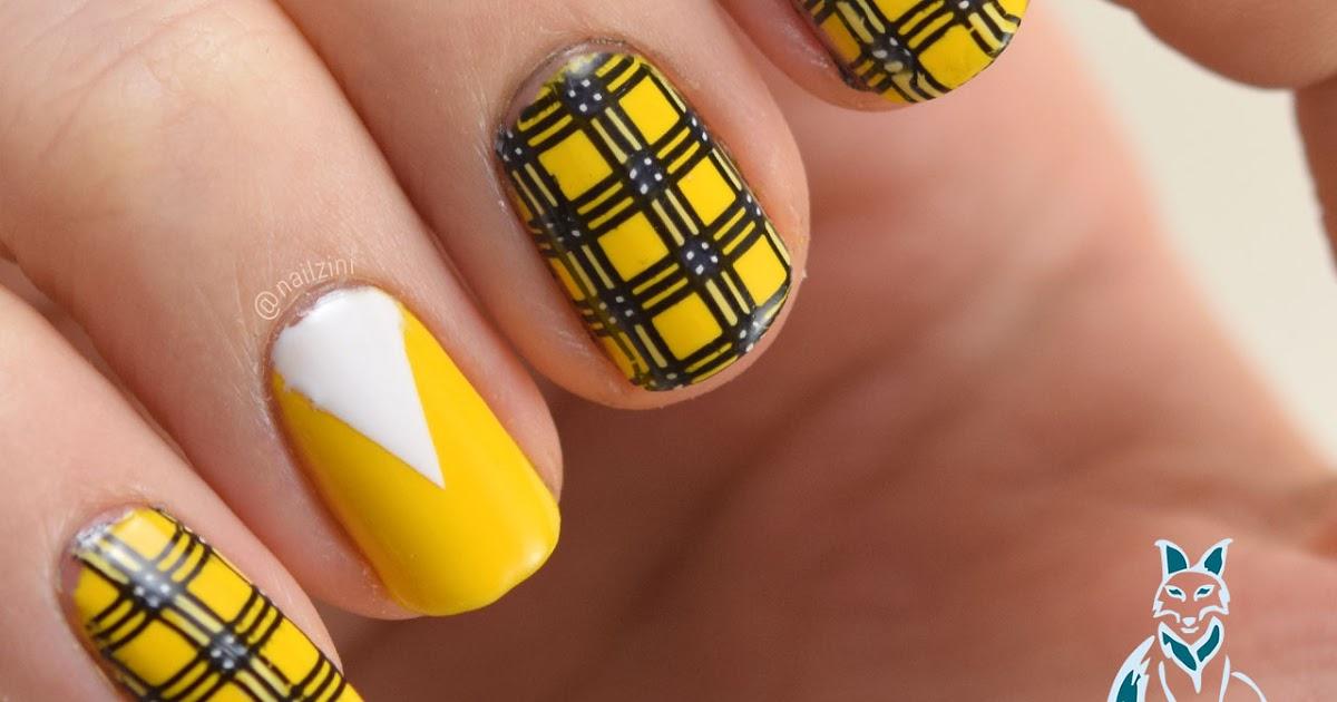 clueless plaid nail art born pretty review