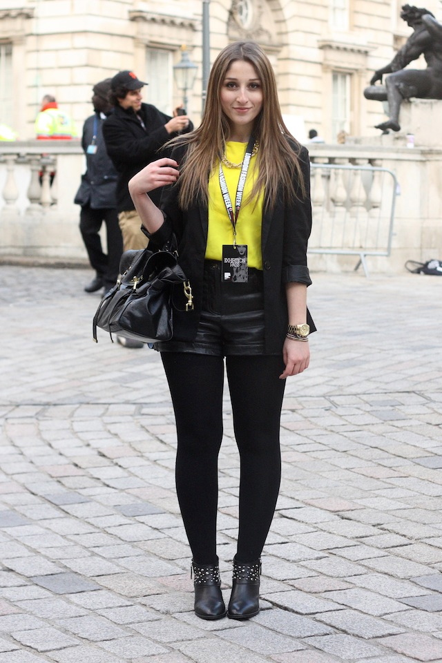 London Fashion Week Day 3 - What I Wore