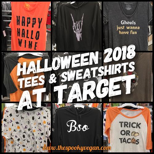 41bdde6a2 The Spooky Vegan: Halloween 2018 Tees and Sweatshirts at Target