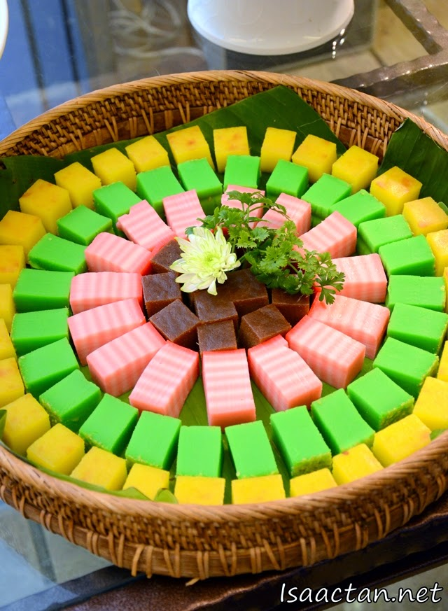 Colourful desserts and kuihs for your enjoyment