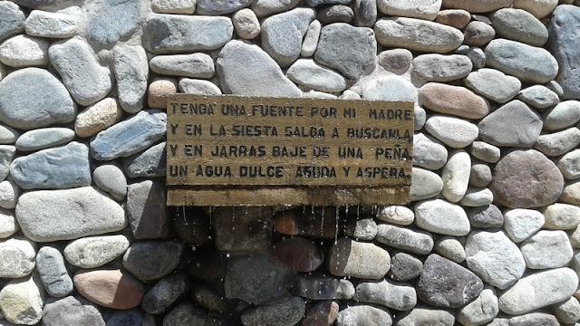 Entrada al museo de Gabriela Mistral