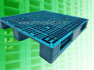 Pallet Plastik EN-4 1212 | Harga, Spesifikasi Pallet Medium Duty