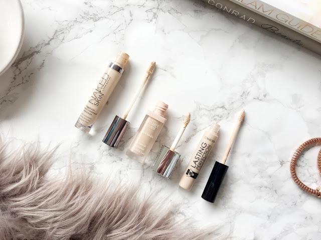 My Top Three Favourite Concealers