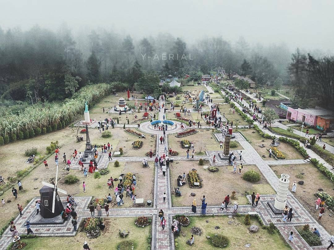 Lokasi, Harga Tiket Masuk, dan Pesona Wisata Merapi Park Sleman Yogyakarta