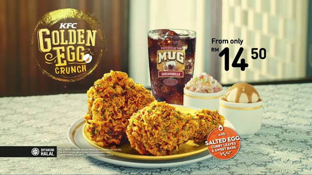 Review Menu Golden Egg Crunch KFC Terbaru
