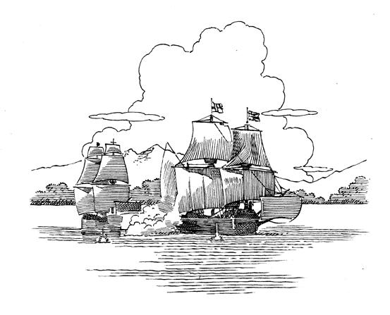 Bron Smith's Flights of Fantasy: Sir Francis Drake's Ship