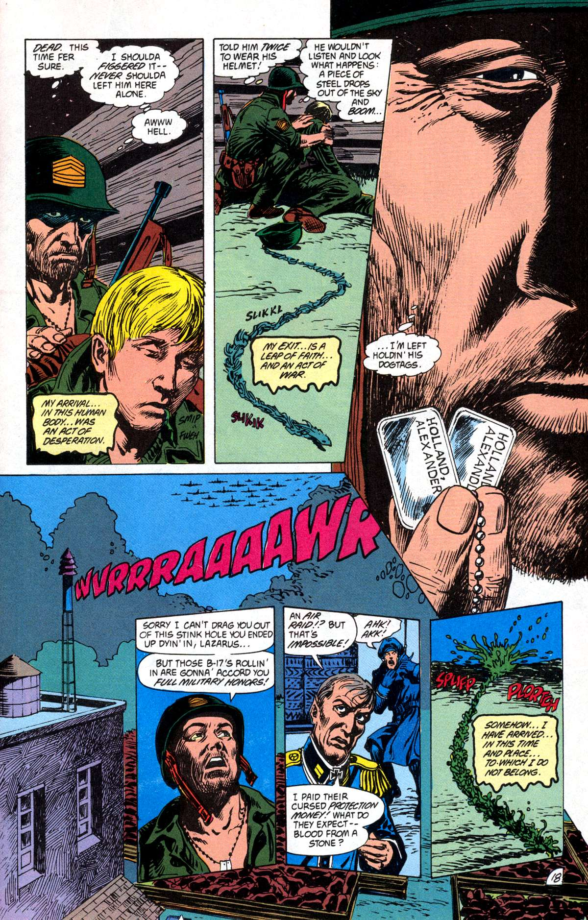 Swamp Thing (1982) Issue #82 #90 - English 19