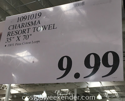 Deal for the Charisma Resort Towel at Costco