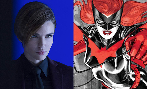 Ruby Rose Kate Kane Batwoman DC