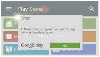 Pengertian Autentikasi di Google Play Store