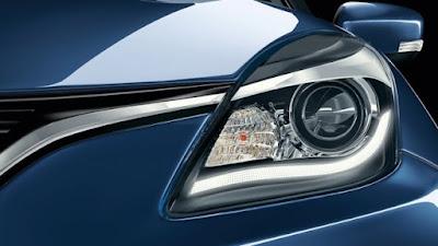 New 2016 Maruti Suzuki Baleno Headlight