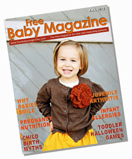 Image: Free Baby Magazine, about pregnancy, babies, toddlers, and preschoolers