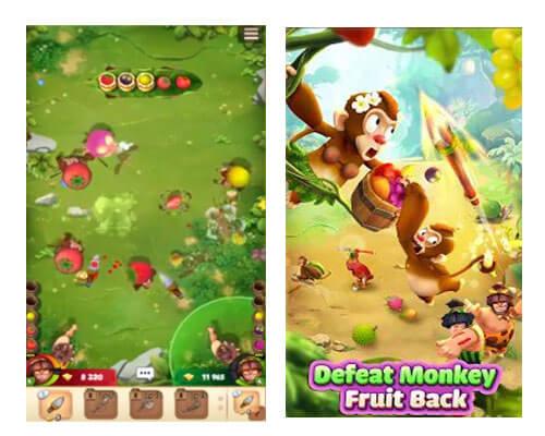 لعبة هدف الفاكهة - Fruit Target