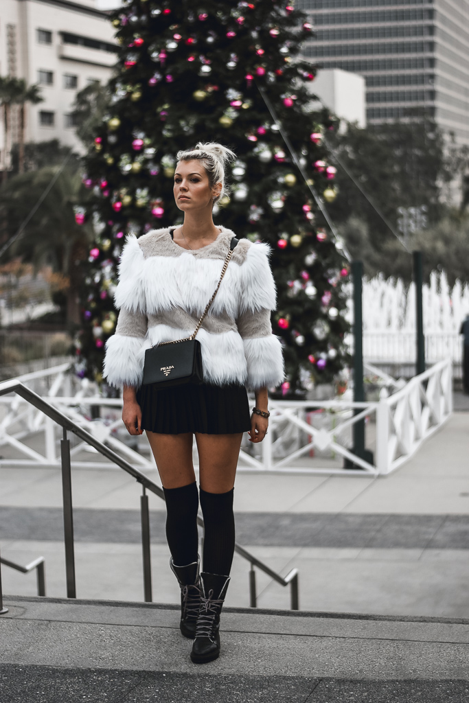 style tips on how to wear faux fur coats