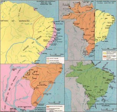 Expansão Territorial do Brasil ao Longo da História